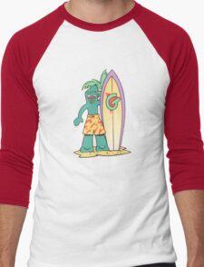 Graffiti New York City iphone case Men's Baseball ¾ T-Shirt