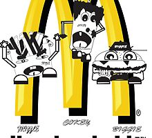 McDonald's Rappers by danny1