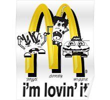 McDonald's Rappers Poster