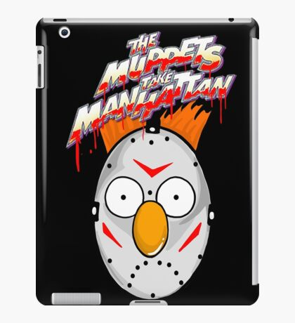 muppets beaker mashup friday the 13th iPad Case/Skin