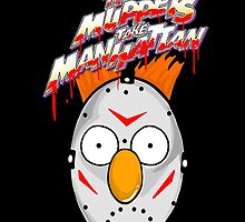 muppets beaker mashup friday the 13th by gjnilespop