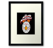 muppets beaker mashup friday the 13th Framed Print