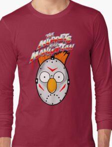 muppets beaker mashup friday the 13th Long Sleeve T-Shirt
