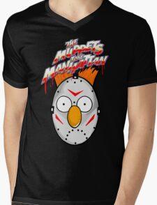 muppets beaker mashup friday the 13th Mens V-Neck T-Shirt