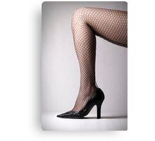 Heels & Stockings Canvas Print