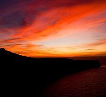 Sunset at Fomm Ir-Rih Malta by Patrick Anastasi