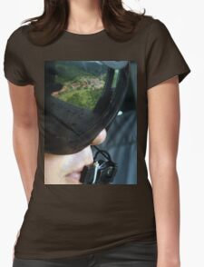 an incredible Panama landscape Womens Fitted T-Shirt