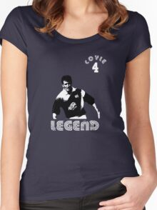 Raith Rovers legend Ronnie Coyle Women's Fitted Scoop T-Shirt