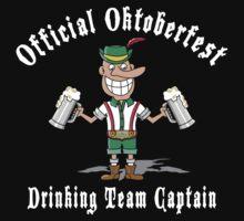 Funny Oktoberfest Drinking T-Shirt by HolidayT-Shirts