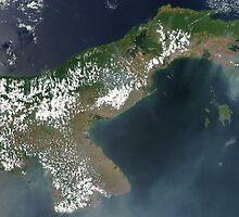 a colourful Panama landscape by beautifulscenes