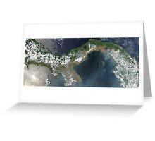a colourful Panama landscape Greeting Card