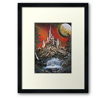 Space Kingdom Framed Print
