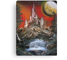 Space Kingdom Canvas Print