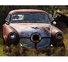 The Bullet Ride    ( BoneYard Series ) Photographic Print