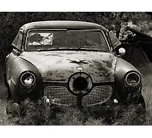 The Bullet Ride ~ 2  ( BoneYard Series ) Photographic Print
