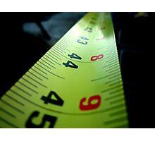 Measuring Tape Photographic Print