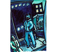 Blue walker no.2 Photographic Print