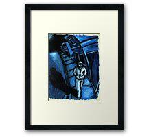 Blue walker no.1 Framed Print