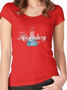 Enjoy Heisenberg Blue Women's Fitted Scoop T-Shirt