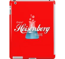 Enjoy Heisenberg Blue iPad Case/Skin