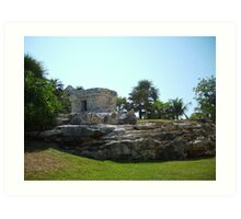 """"""" Mexican Ruins of Playa Del Carmen"""" Art Print"""