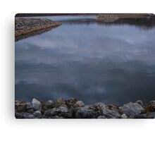Sky Reflected in the water Canvas Print