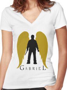 Gabriel Women's Fitted V-Neck T-Shirt