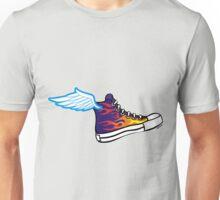 Flying Tennis Shoe Unisex T-Shirt