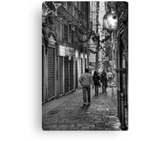 Alley Genoa 4 Canvas Print