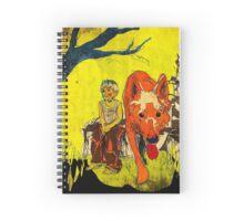 boy och dog Spiral Notebook