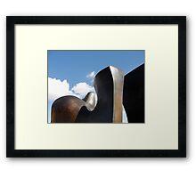 Abstract sculpture Framed Print