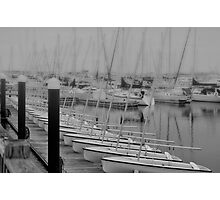 Sailing School Cancelled Photographic Print