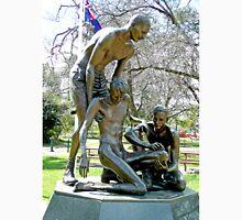 """Ernest Edward """"Weary"""" Dunlop Memorial, Benalla, Vic. Australia Unisex T-Shirt"""