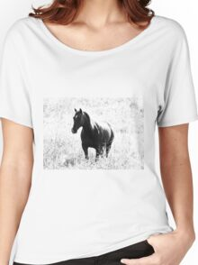 Contrast mare Women's Relaxed Fit T-Shirt