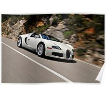 The Bugatti Veyron 16.4 Grand Sport .... Poster
