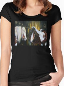 Gypsy Gold Fever Women's Fitted Scoop T-Shirt