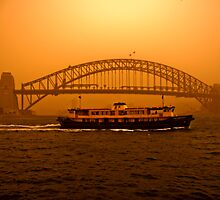 Sydney Dust Storm by David Petranker