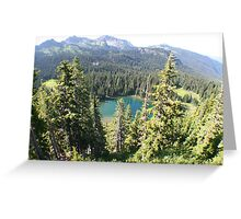 Sunrise Lake Greeting Card