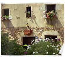 Cottage in Tossa De Mar, Spain Poster