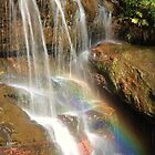 Wentworth Falls Hidden Rainbow by Paul Duckett
