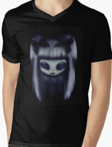 Purple Doll Mens V-Neck T-Shirt