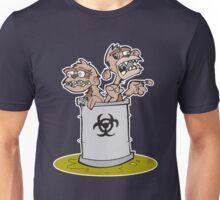 Zombie Barrel of Monkeys Unisex T-Shirt