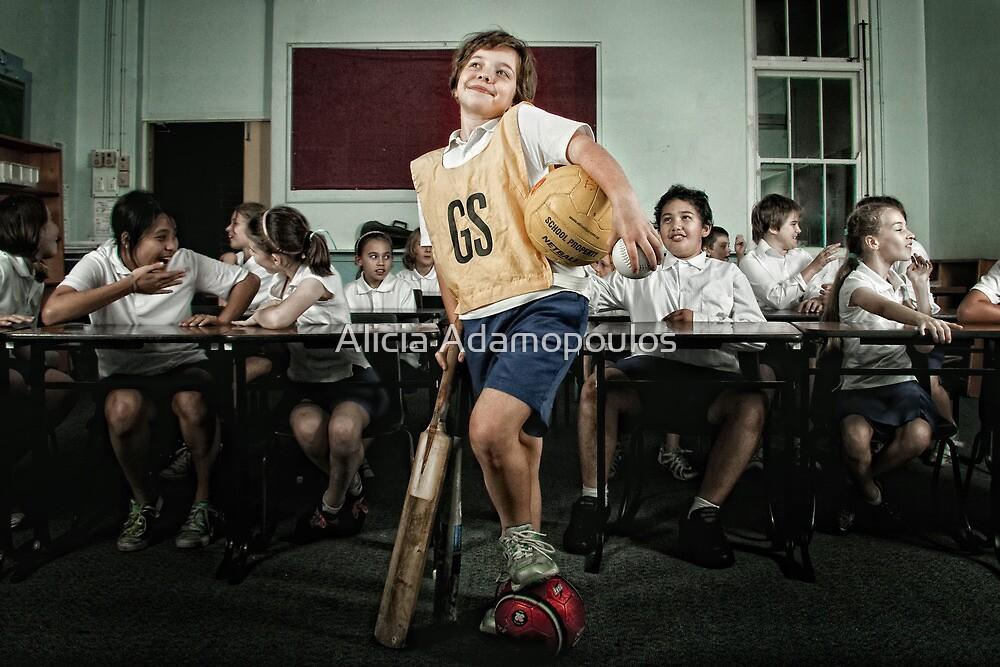 School Daze - The Jock/Sports Nut by Alicia Adamopoulos