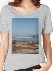 a desolate Djibouti landscape Women's Relaxed Fit T-Shirt