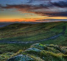 The Setting Sun by Claire Tennant