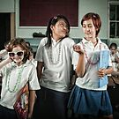 School Daze - Popular Girls by Alicia Adamopoulos