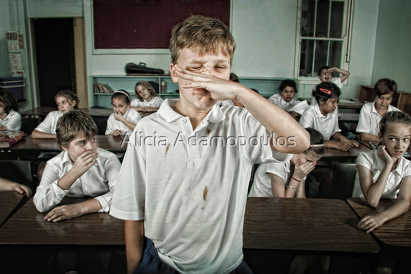 School Daze - The Messy/Smelly Kid by Alicia Adamopoulos