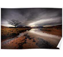 Loch Tulla Beach... Poster