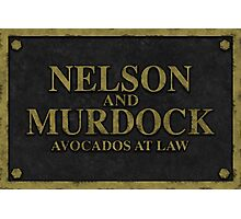 Nelson and Murdock, Avocados at Law Photographic Print