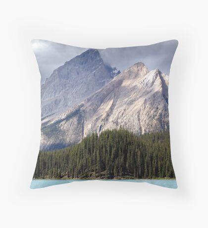 Mountain Colours Throw Pillow